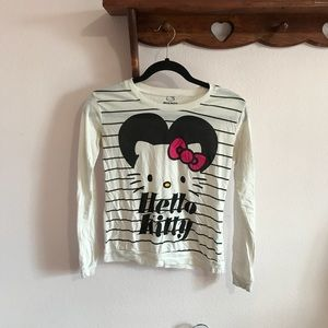 Small Forever 21 Hello Kitty Long-Sleeved Tee